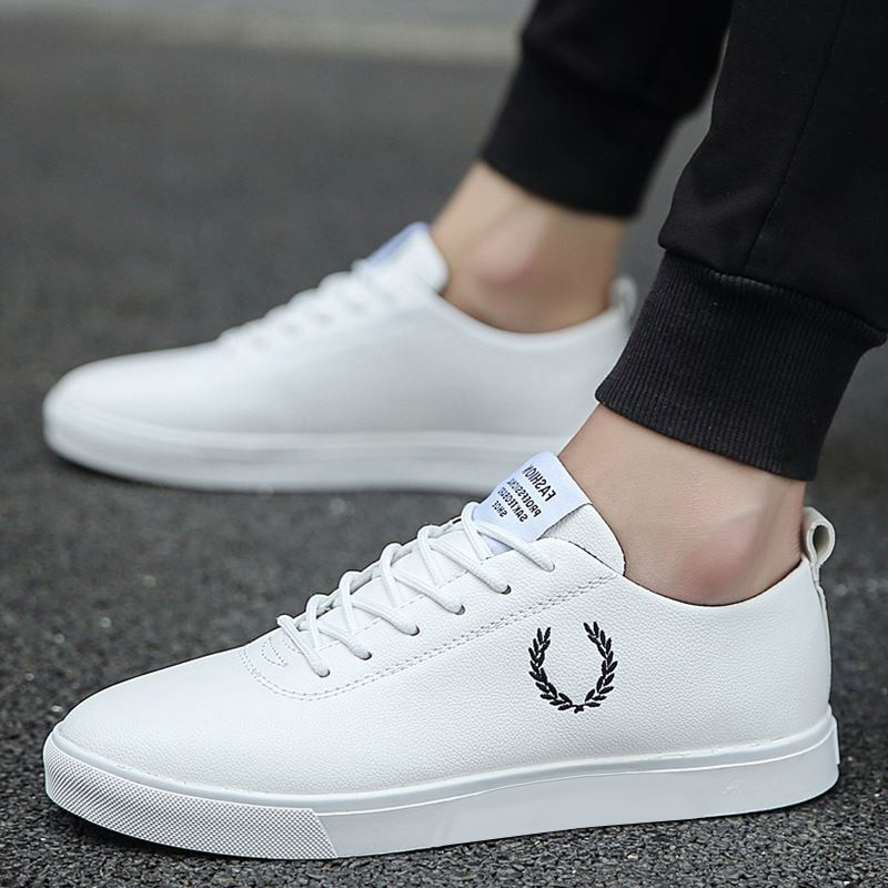 Spring Autumn White Shoes Men Shoes Men's Casual Shoes Fashion Sneakers Street Cool Man Flat Shoes F