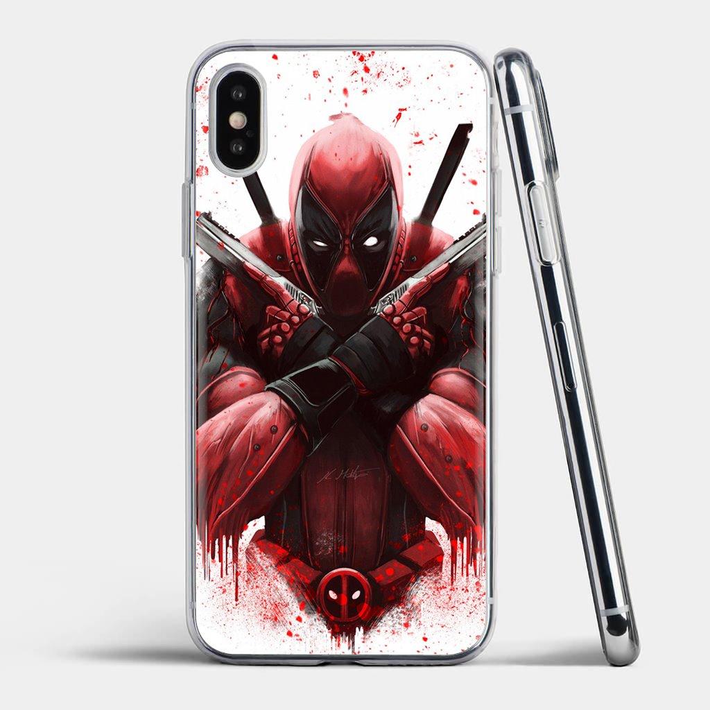 Para iPhone 11 Pro 4 4S 5 5S SE 5C 6 6S 7 8 X XR XS Plus Max para iPod Touch Marvel deed pool Deadpool, funda de teléfono de silicona barata