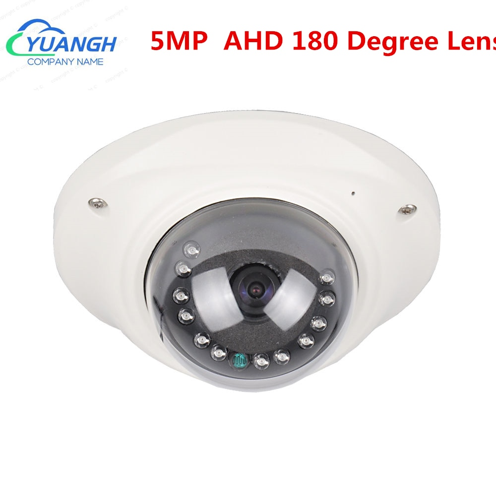 mini camera cctv 360 degree lens 2mp sony imx323 metal dome vandalproof ahd indoor dome surveillance cameras 5MP MINI CCTV Camera AHD Metal Dome Vandalproof High Definition IR Infrared CCTV Security Cameras Night Vision