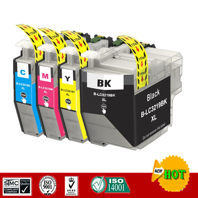 Nuevo para LC3219 LC3219XL cartucho de tinta Compatible para Brother MFC-J5330DW J6530DW J6730DW J6930DW impresora