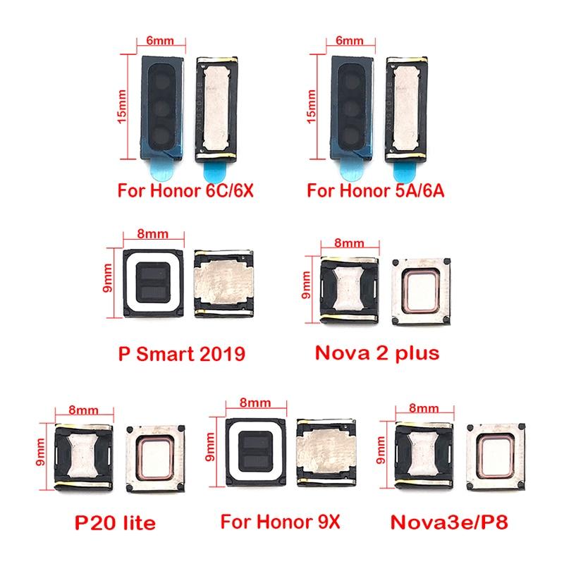 2 unids/lote para Huawei Honor 6C 6X 9X 5A 6A 8 7 Nova 3e 3 3i 4 Nova2 más P8 p20 P30 P Smart 2019 pieza de oreja Cable flexible
