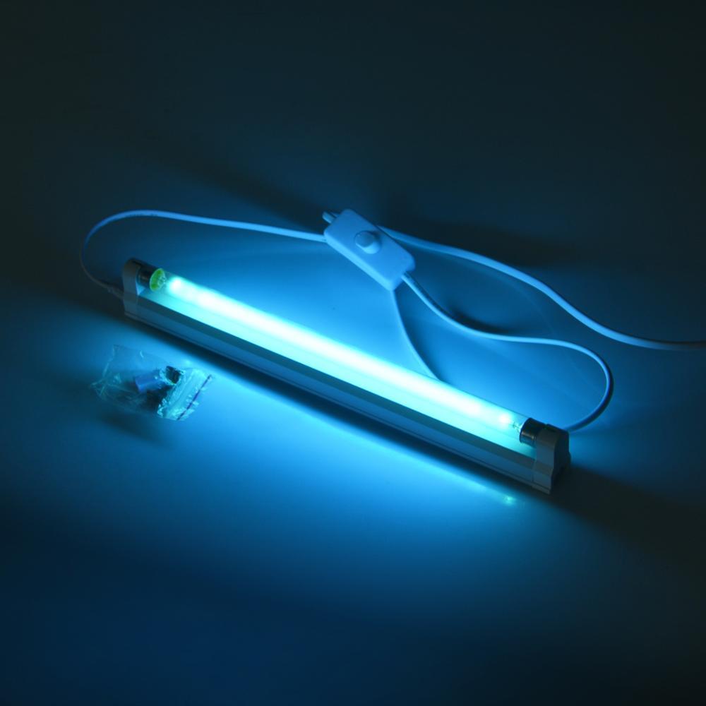 6W/8W Ultraviolet Germicidal Light T5 Tube 110/220V UVC Quartz Ultraviolet lamp UV LED Lamp Bactericidal Lamp