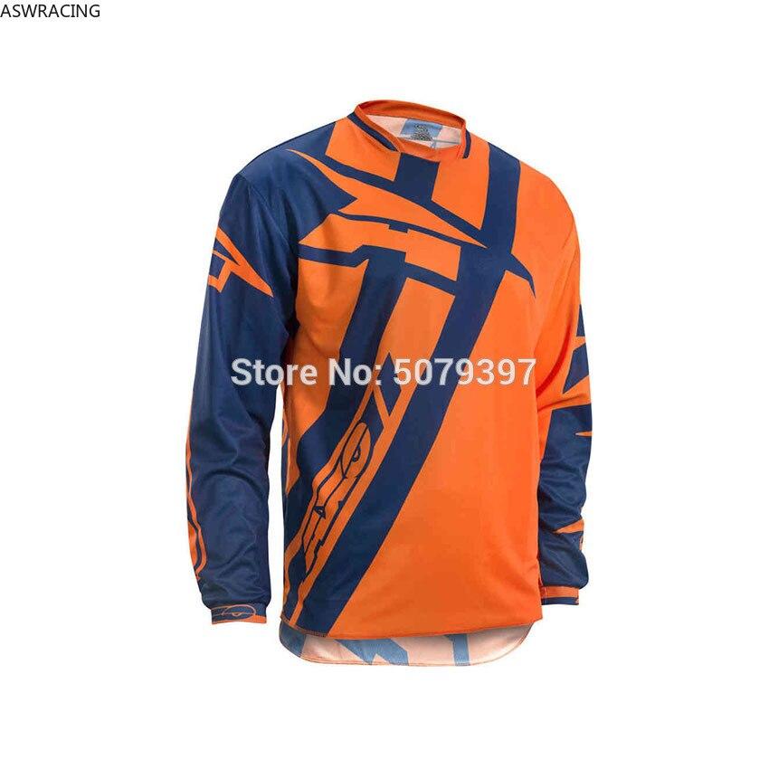Jersey de Moto cross para hombre, maillot dh para descenso de montaña