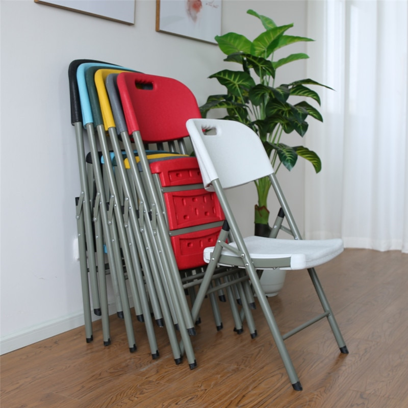 Silla plegable, fácil mesa de comedor y silla portátil, silla de exterior para descansar, muebles de exterior, sillas de camping plegables