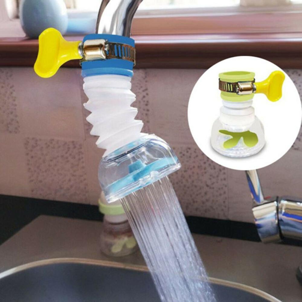 Вращающаяся на 360 градусов насадка-распылитель для крана прочная насадка с фильтром для крана кухонный кран фотофильтр для крана устройств...