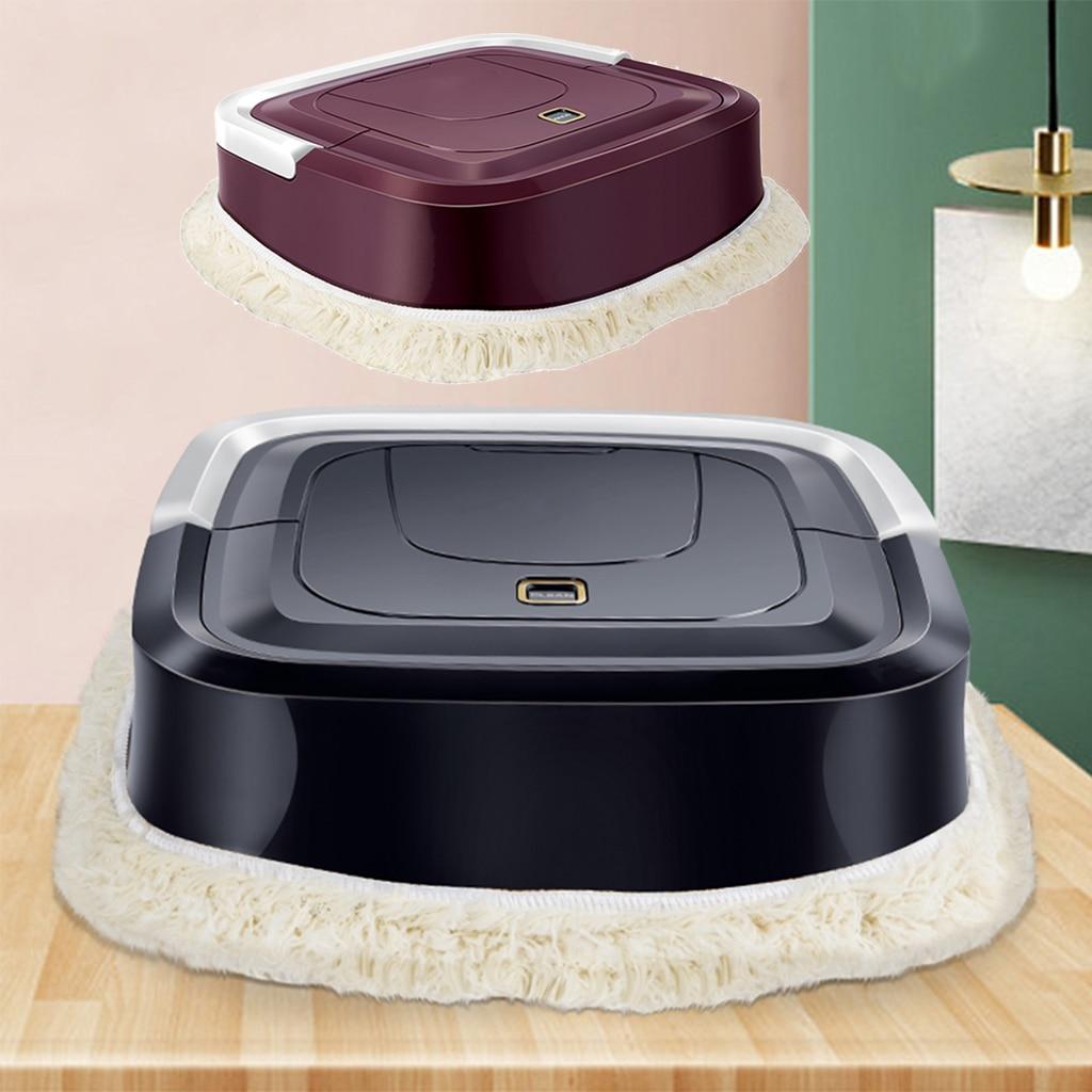 Robô aspirador de pó 5v usb carregamento automático casa vassoura super forte sucção baixo ruído casa piso silencioso máquina limpeza