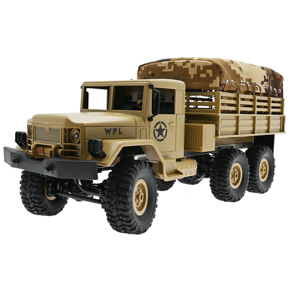 1:12 2.4G B16R-1 RC Car Six Drive Cross Country Vehicle With Canvas Remote Control Car Toys Front Lights For Children Kids Gifts enlarge