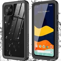 pixel 4a 5g waterproof case for google pixel 4a 5g swim proof case built in screen protector cover protection capa funda