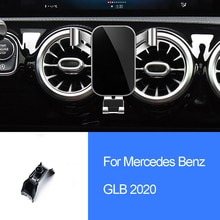 Voiture Support Pour Téléphone Pour Mercedes Benz GLB 2020 Dévent Encliquetable gravité GPS Support DE Téléphone PORTABLE Support Auto Accessoires Intérieurs