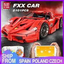 Mould King MOC 13085 Technic Series  Ferraried FXX F40 Enzo Sports Car Model Building Blocks Bricks Lepining 5889 Kids Toys Gift