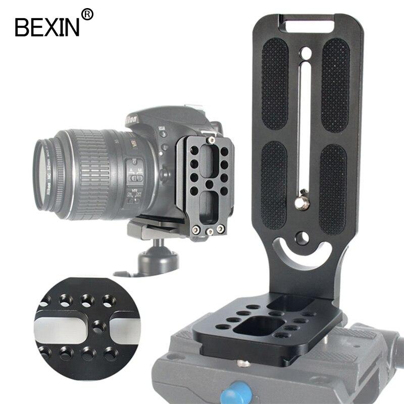 BEXIN штатив для dslr камеры arca swiss Quick Release L Пластина l-образный кронштейн держатель рукоятка с 1/4 винтом для canon nikon sony