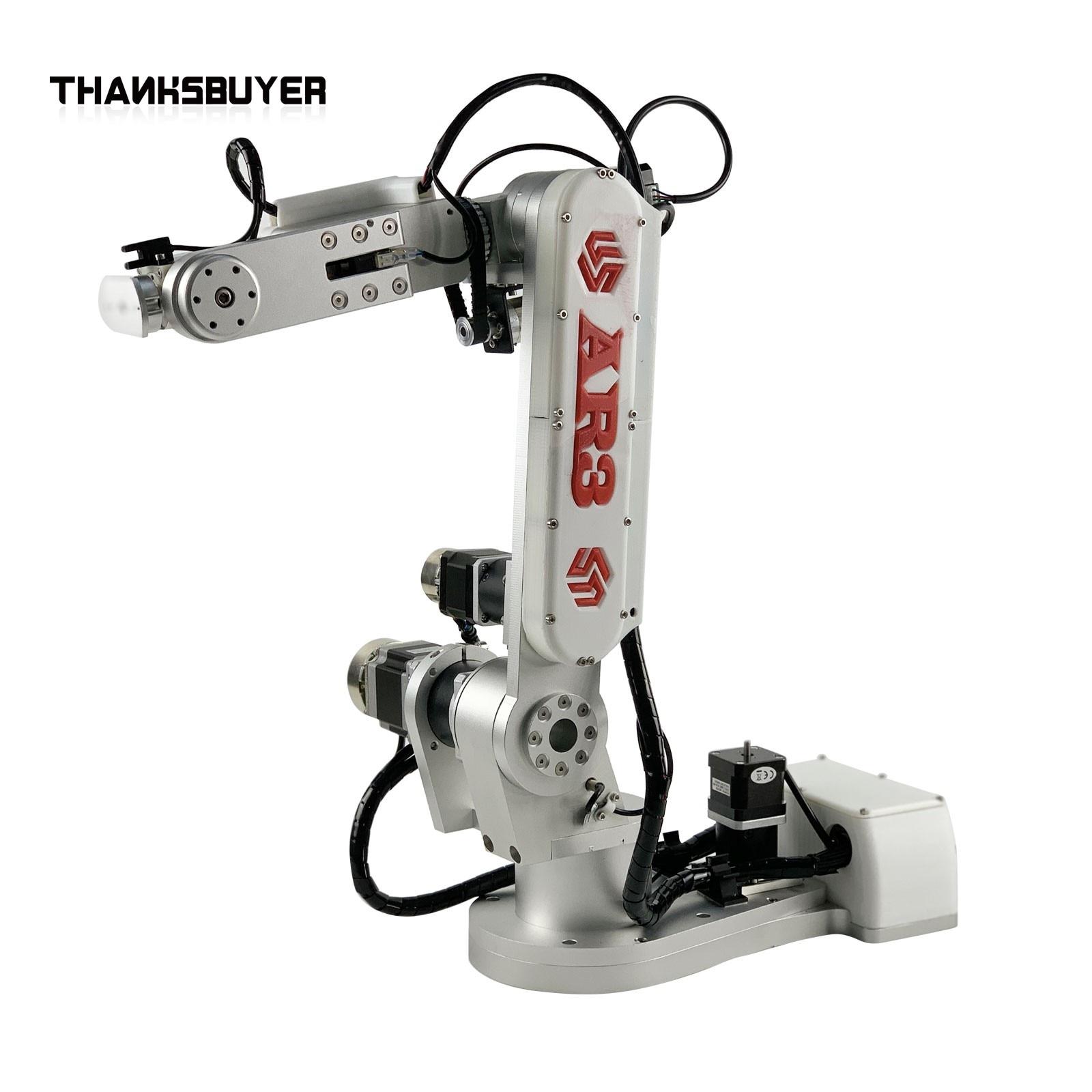 2 كجم تحميل AR3 ذراع آلي 6 محور روبوت صناعي ذراع ميكانيكية تطوير الثانوية برمجة الذراع إطار