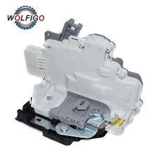 WOLFIGO Front Left or Right Door Latch Lock Actuator for Volkswagen MK5 EOS SEAT Leon 1P Zv ALTEA TOLEDO 1P1837015 1P1837015A