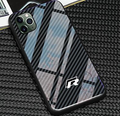 Tpu + vidrio templado Golf funda para iphone x XR XS MAX 7 6 6S 8 plus para iphone 11 pro max samsung s8 s9 s10 plus amigo 20