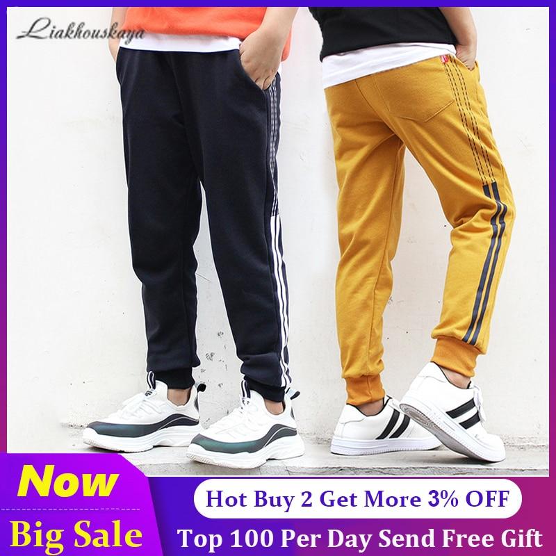Pantalones deportivos para niños 2020, pantalones de moda para niños, pantalones casuales para niños, ropa para niños adolescentes, pantalones de chándal, ropa de 4-13 años