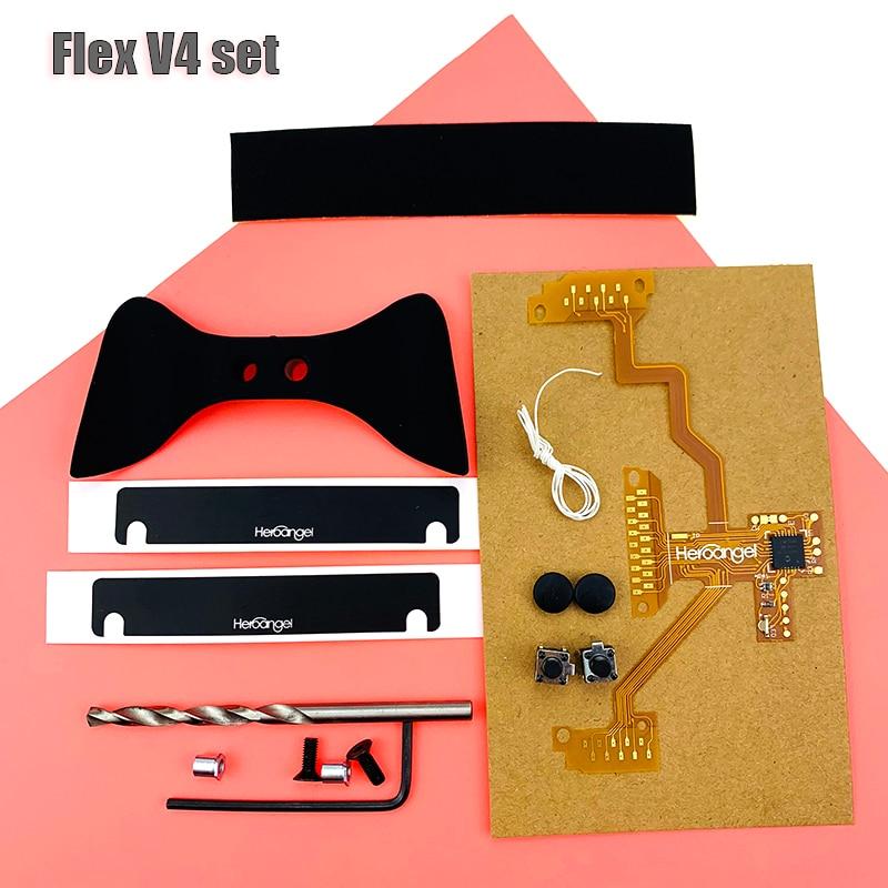 Fuoco rapido Compatibile Per PlayStation 4 Controller di JDM-040 Mod Plus per PS4 Pro Rapid Fire V5