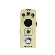 MOOER Envelope Mini Guitar Pedal Analog Auto Wah Portable Guitar Effect Pedal Processor True Bypass Guitar Parts Accessories