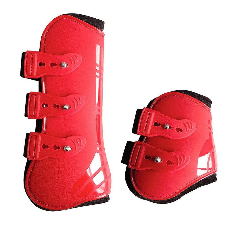 Новые ботинки с препятствиями для прыжков и лошадей регулируемые эластичные леггинсы для лошадей профессиональное соревнование искусстве...