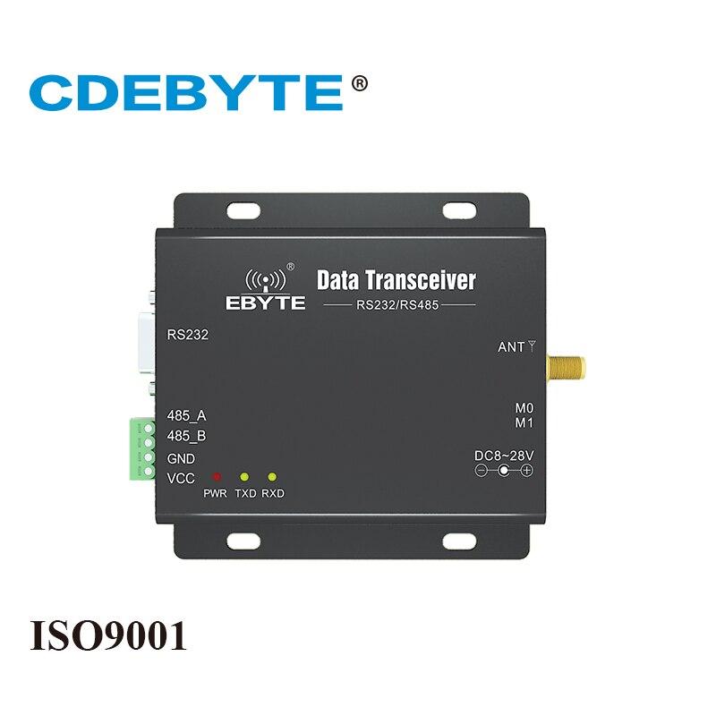 E32-DTU(915L20) لورا طويلة المدى RS232 RS485 SX1276 915mhz 100mW IoT Uhf جهاز استقبال واستقبال لاسلكي جهاز ريسيفر استقبال وإرسال وحدة RF