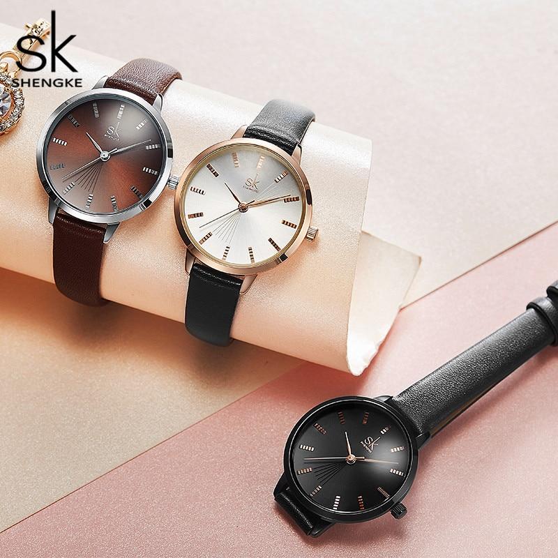 Minimalism Womens Watch Black Strap Stylish Simple Top Brand Japan Quartz Female Wristwatch Fashion Dress Watch Women Gift enlarge