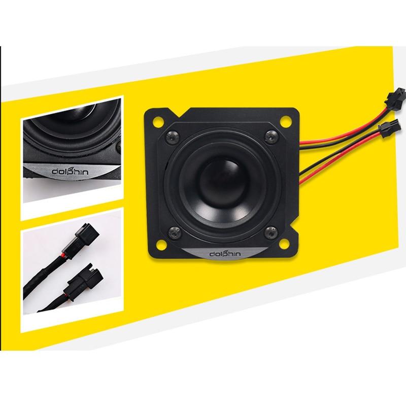 Car center console full-range midrange speaker upgrade modification Car Styling For Renault Koleos 2017 2018 2019 Accessories enlarge