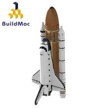 Buildmoc blöcke 16014 Raum Shuttle Expedition Gebäude Kits Set Blöcke Bricks Kompatibel technic Kinder Spielzeug 10231