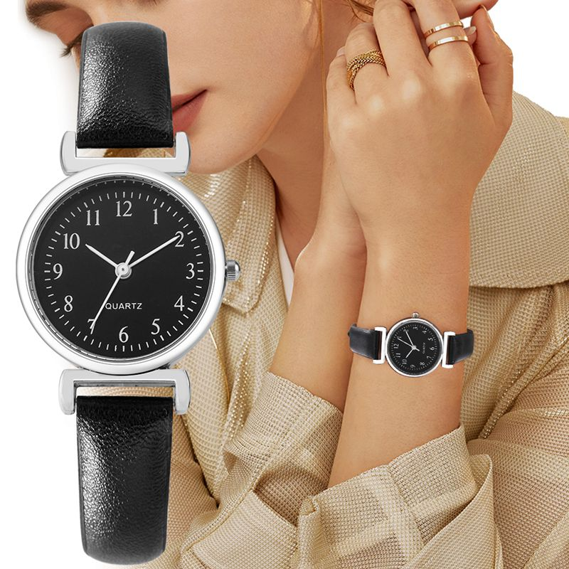 New Simple And Fashionable Women'S Watch Decorative Watch Small And Convenient Harajuku Style Studen