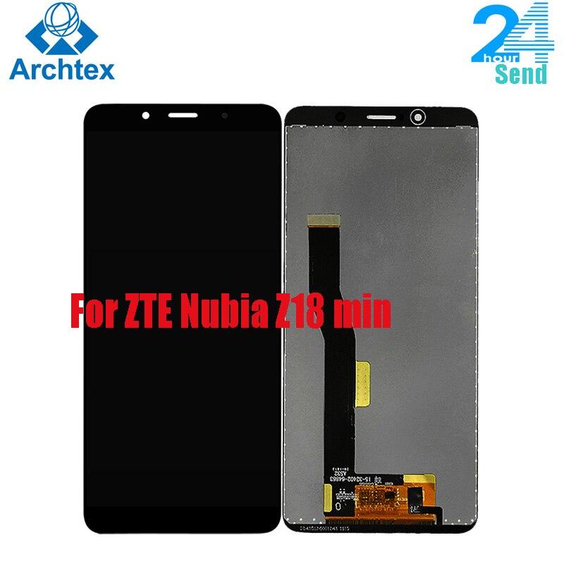 Для ZTE Nubia Z18 Mini LCD дисплей и фотоэлемент для Nubia Z18 mini NX611J NX611H LCD + инструменты 5,7 дюйма 4060 мач li3940t44p6h876442 сменный аккумулятор для zte nubia z18 nx612j аккумуляторы для мобильных телефонов