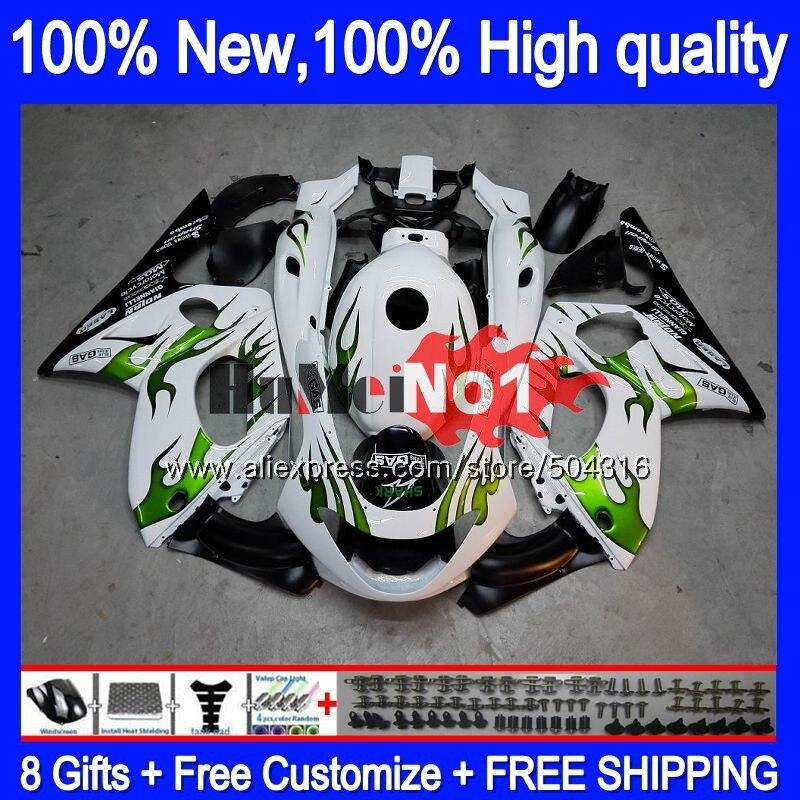 YZF 600R لياماها Thundercat YZF-600R 39MC. 55 YZF600R 2002 2003 2004 2005 2006 2007 96 02 03 04 05 06 07 الأخضر اللهب هدية