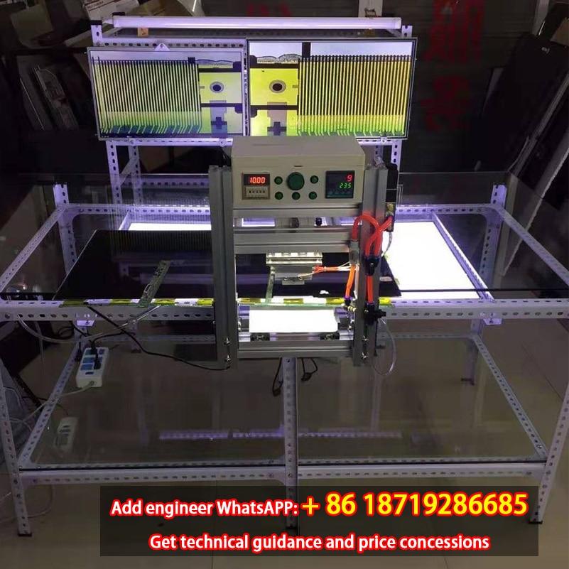TKDMR LCD TV شاشة الصحافة شاشة إصلاح المعدات تبويب COF الترابط آلة الشاشة إصلاح أداة نبض الصحافة الساخنة جديد