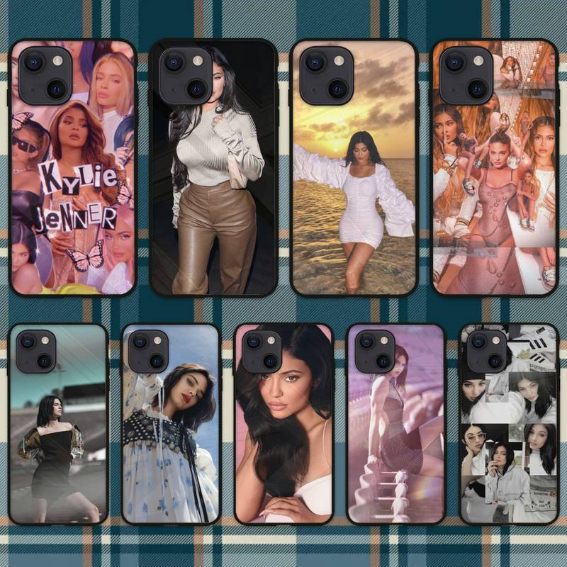 Kylie Kristen J-Jenner Phone Case For iPhone 12 Mini 11 Pro XS Max X XR 7 8 Plus Glass Shell
