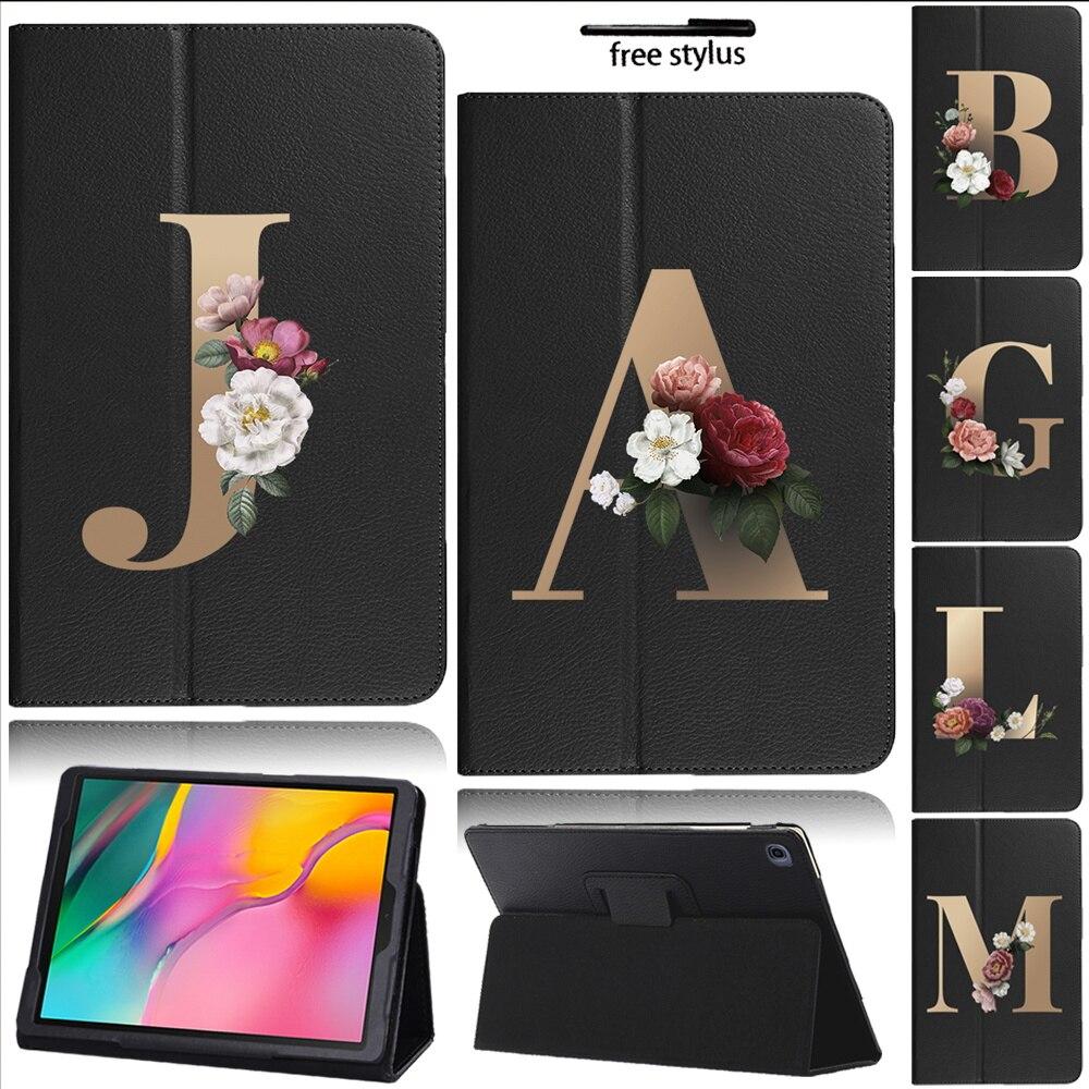 Кожаный чехол для Samsung Galaxy Tab A 2019 планшет, 10,1 дюйма, складываются в три раза, держатель, Твердый чехол для Samsung Galaxy Tab A SM-T510 SM-T515 планшет samsung galaxy tab e 9 6 sm t 561 n белый
