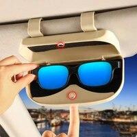 glasses holder magnetic car sun visor glasses case organizer glasses storage box holder visor sunshade car holder for glasses