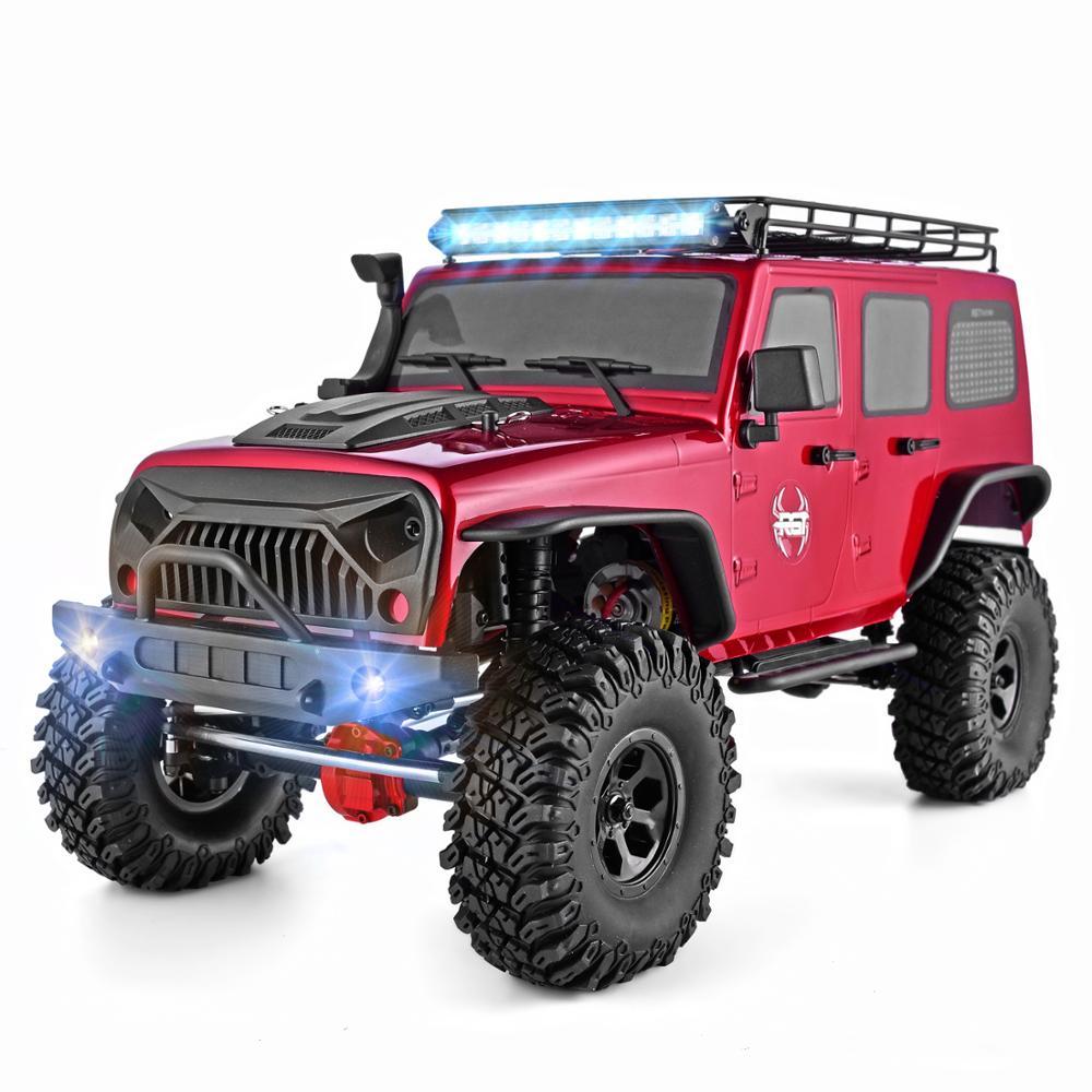 RGT RC Car 1:10 4wd RC Car Metal Gear Off Road Truck Rock Crawler Cruiser EX86100 Hobby RTR 4x4 Waterproof Toy