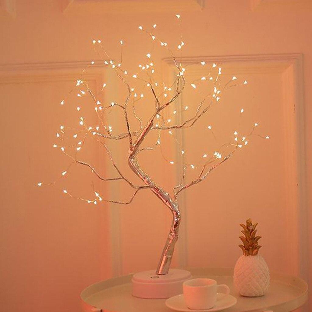 Luz Led nocturna creativa para árbol de perlas, luz de Color con...