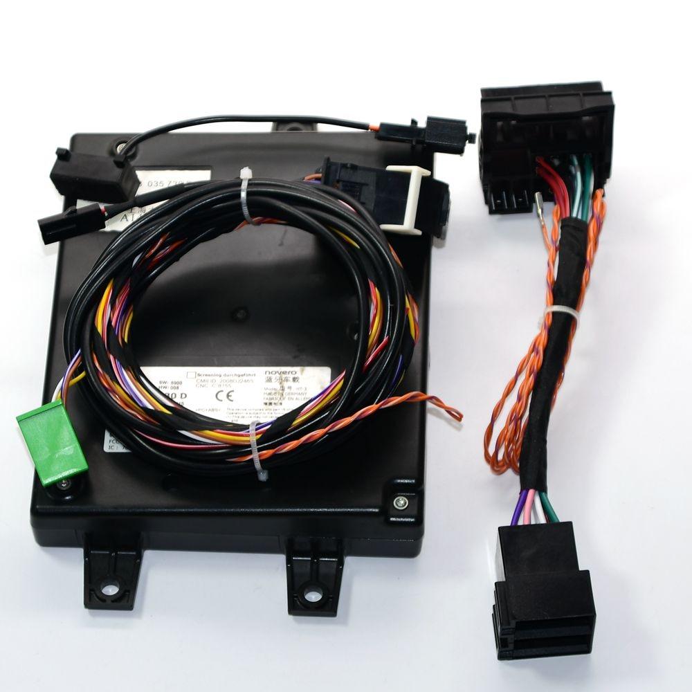 1k8 035 730 d unidade de controle do módulo bluetooth wplay cabo árvore/cabo 9w2 para golf passat rns510rcd510