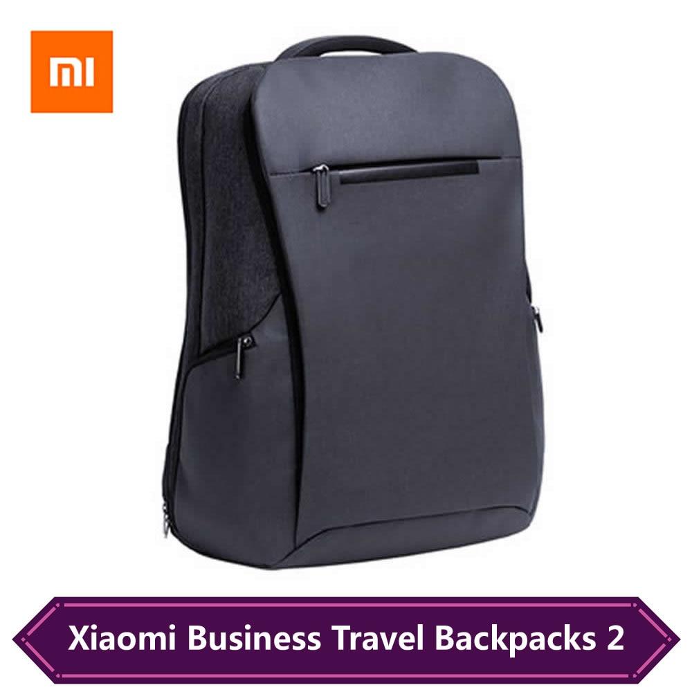Original xiaomi negócios mochilas de viagem 2 geração masculino viagem multi-funcional bolsa para portátil para 15.6 polegada 26l grande capacidade