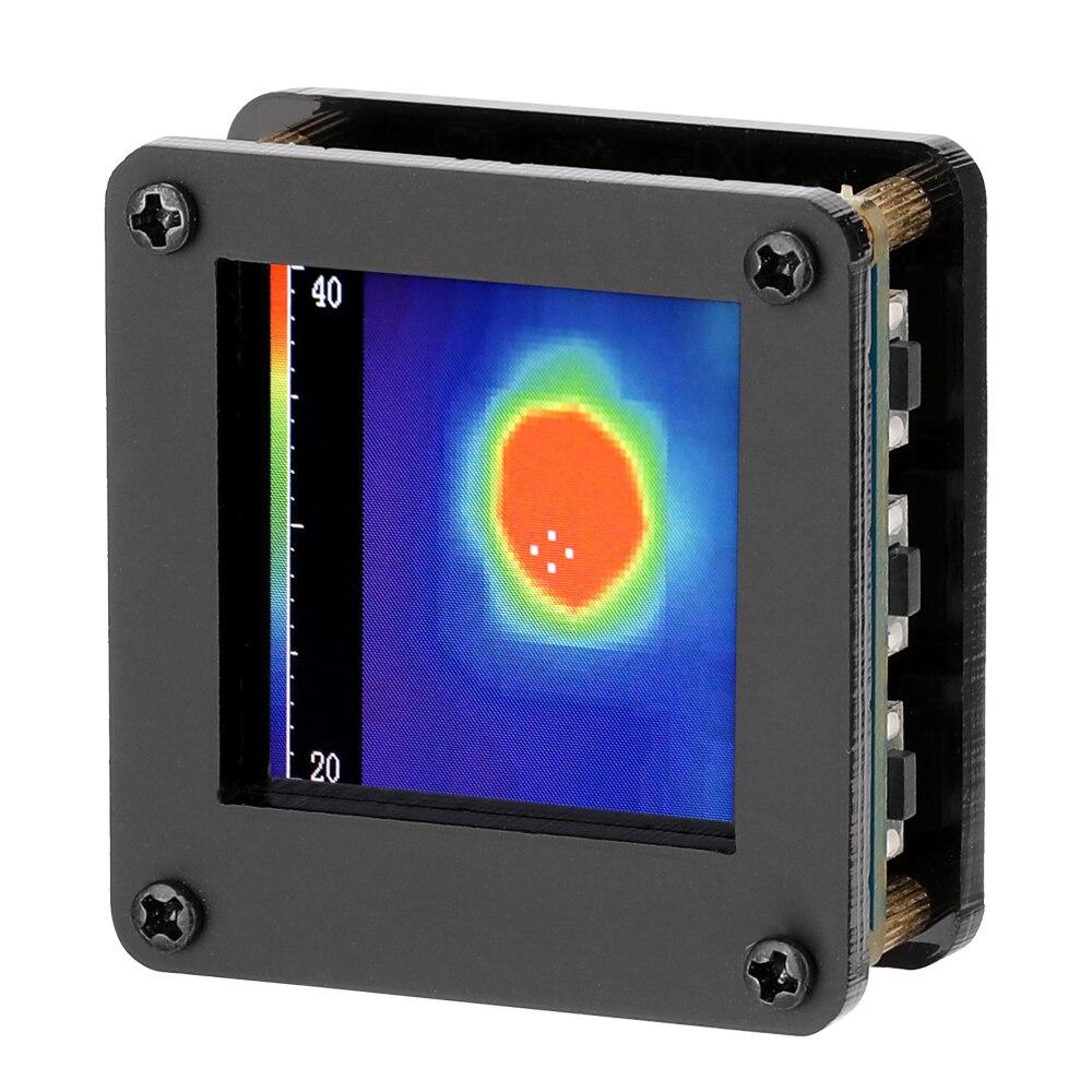 Thermische Imager AMG8833 IR 8*8 Infrarot Thermische Imager Array Temperatur Sensor 7M Am Weitesten Erkennung Abstand mit Gehäuse