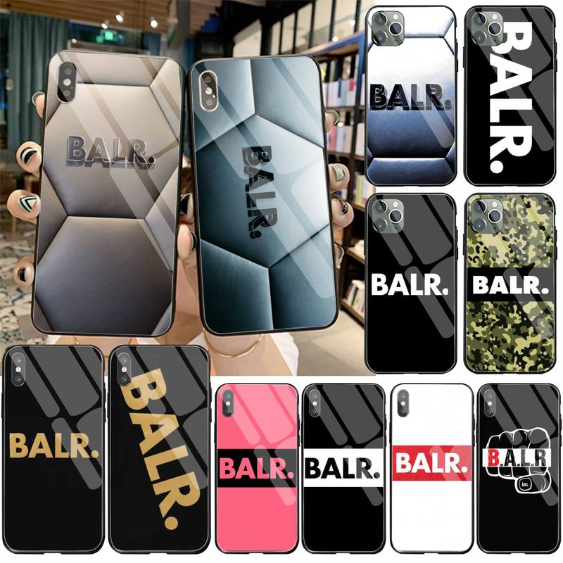Funda de teléfono Cool balr de alta calidad para iPhone 11 Pro XR XS MAX 8X7 6S 6 Plus SE 2020