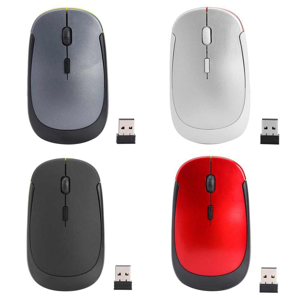 Portable Wireless Mouse High-quality 1600DPI USB Optical Four Way Scroll Mice Computer Peripherals for PC Computer