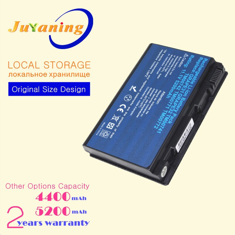 Portátil GRAPE32 de batería para Acer TravelMate 5220 de 5220G 5230, 5310,...