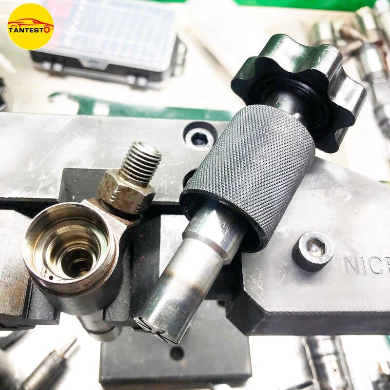 Injector de trilho comum parte do corpo moedor ferramenta manutenção moagem injector plana ferramenta para bosch 110 120