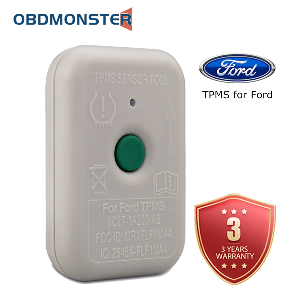 TPMS Reset Tool for Ford Lincoln Mercury Tire Pressure Monitor Relearn Sensor Training TPMS19 (8C2T-1A203-AB)