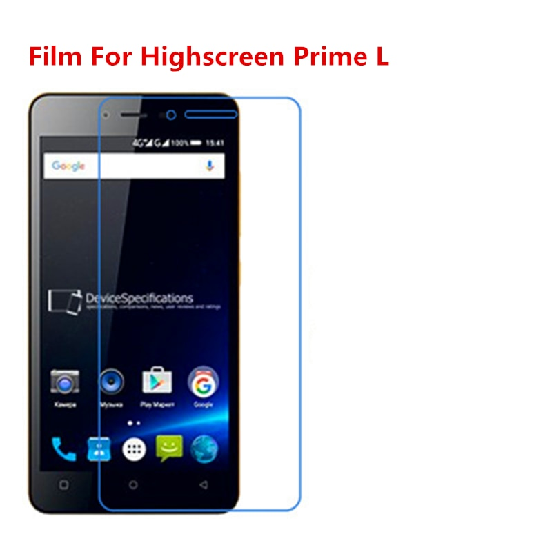 1/2/5/10 Uds película protectora de pantalla LCD HD transparente Ultra delgada con película de paño de limpieza para Highscreen Prime L.