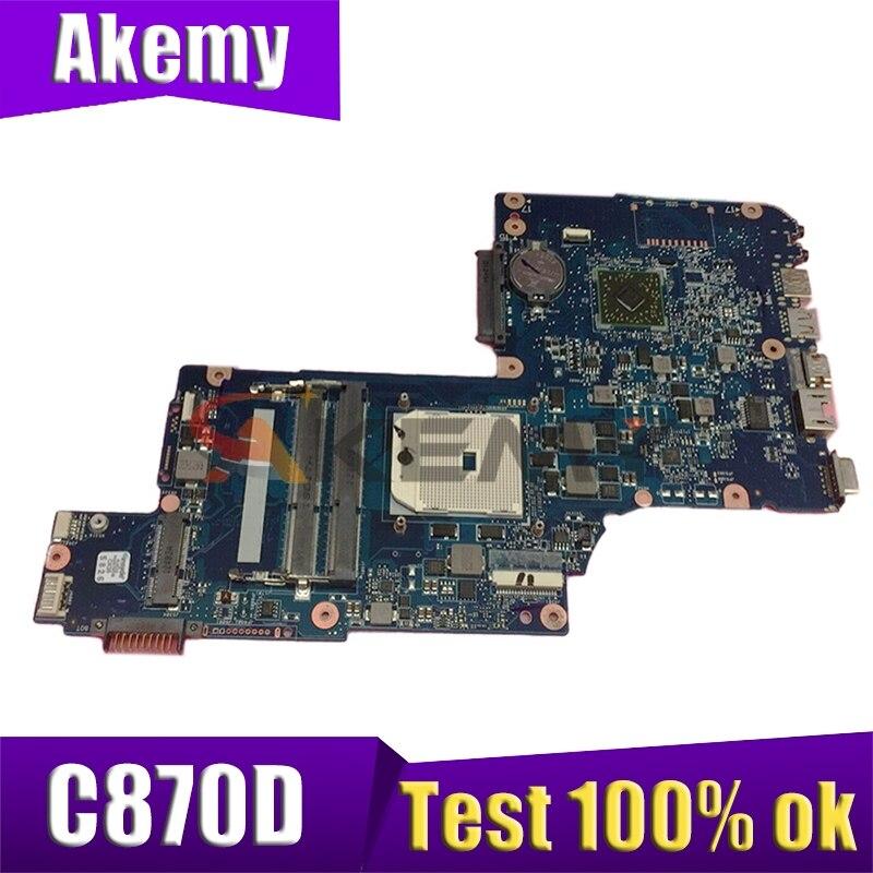 H000038910 H00043580 ل توشيبا الأقمار الصناعية C870D C875D L870D L875D اللوحة الأم للكمبيوتر المحمول PLAC/CSAC UMA اللوحة الرئيسية 100% العمل