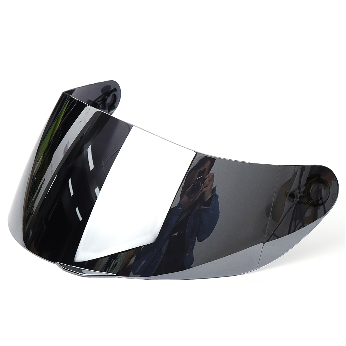 Silver-plated helmet lens windshield Silver-plated helmet lens windshield for motorcyc Protects Eyes while Driving
