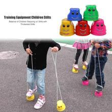 2 teile/satz Balance Gefühl Ausbildung Kinder Kinder Verdickt Springen Stelzen Spielzeug Kunststoff Outdoor Sport Spiel Balance Schuhe Heißer Verkauf