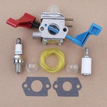 Vergaser Kraftstoff Filter Linie Montage für Poulan FL1500 FL1500LE Carb Zama C1U-W12A C1U-W12B Blatt Gebläse 530071629
