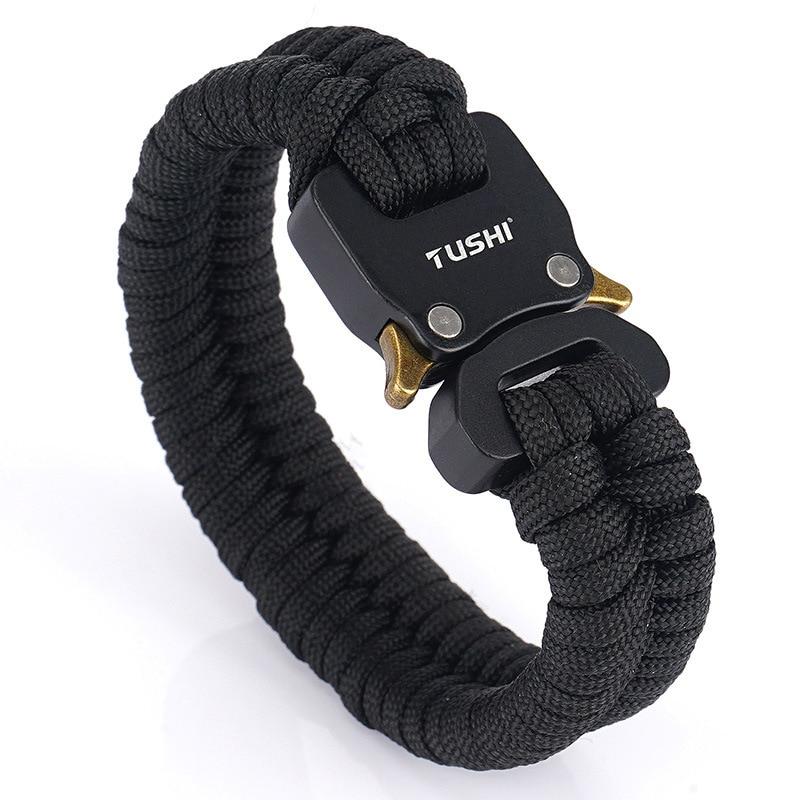 Creative umbrella rope bracelet 7-core umbrella rope survival bracelet outdoor multifunctional survi