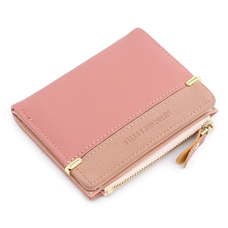 Women's Wallet Short Women Coin Purse Fashion Wallets For Woman Card Holder Small Ladies Wallet Fema
